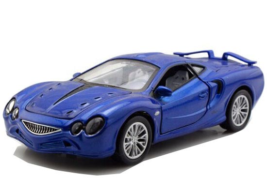 Red / Blue / Silver Kids 1:32 Scale Diecast Mitsuoka Orochi Toy