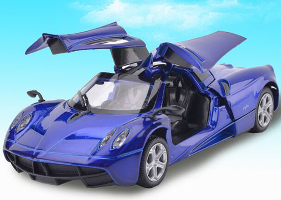Pull-Back Function Red / Green / Blue 1:32 Diecast Pagani Zonda