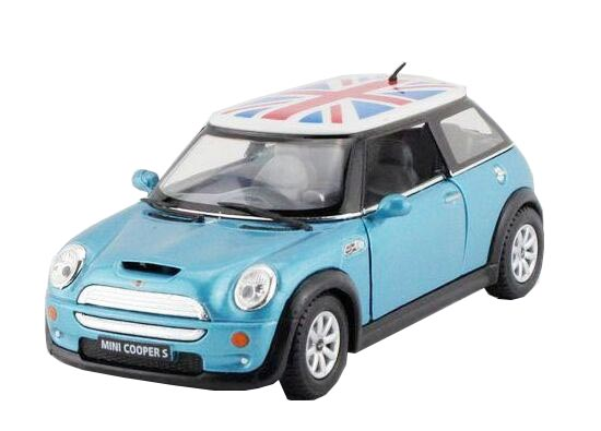 Yellow / Blue / Green / Red 1:36 Diecast Mini Cooper S Toy