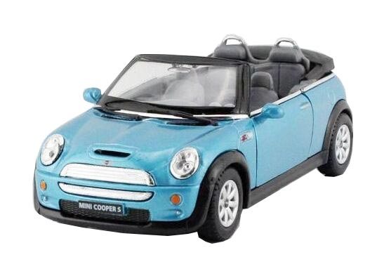 Red / Blue/ Yellow/ Silver 1:36 Kids Diecast Mini Cooper S Toy