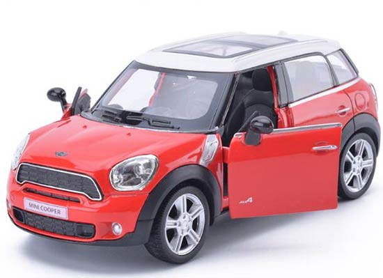 White /Blue /Red /Black Kids 1:36 Scale Diecast Mini Cooper Toy