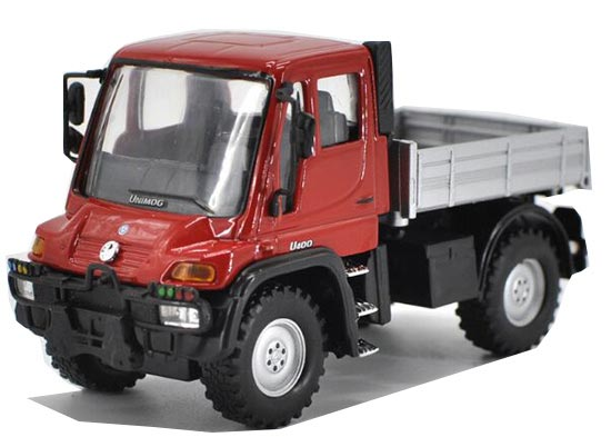 1:43 Welly Diecast Mercedes-Benz Unimog U400 Truck Toy