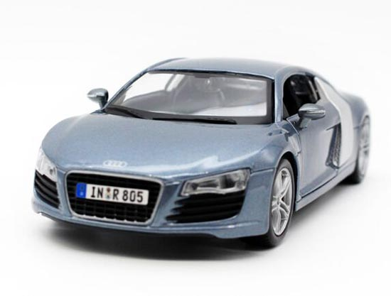 Red / Blue / Black 1:24 Scale Maisto Diecast Audi R8 Model