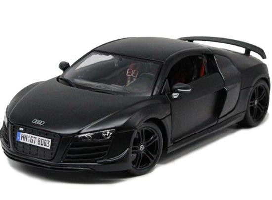 Black /White / Silver 1:18 Scale Maisto Diecast Audi R8 GT Model