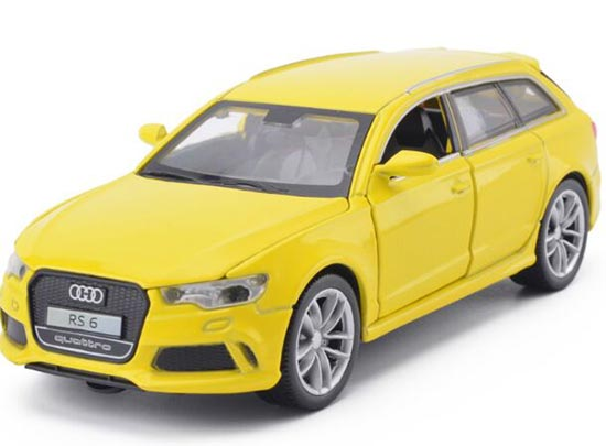 Kids Blue /Red / Silver / Yellow 1:32 Scale Diecast Audi RS6 Toy