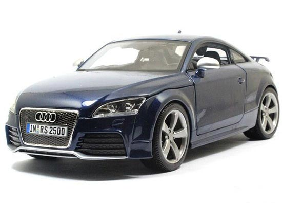 Red / Silver / Blue 1:18 Scale Bburago Diecast Audi TT RS Model