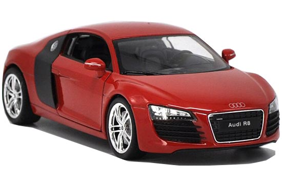 1:24 Scale Welly Diecast Audi R8 Model