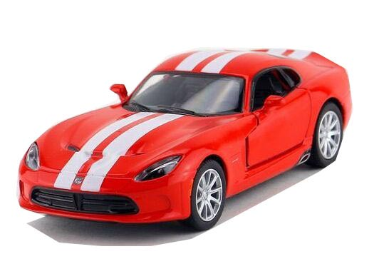 Yellow / Black /Blue /Red 1:36 Kids Diecast Dodge Viper GTS Toy