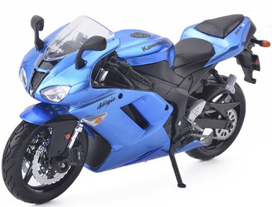 Red 1:12 Scale Maisto Diecast Kawasaki Ninja ZX 6R Model