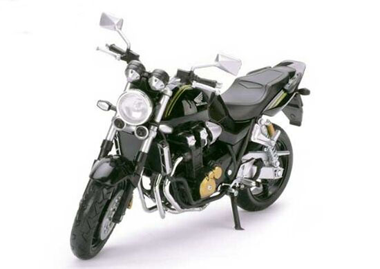 White / Black 1:12 Scale Diecast Honda CB1300SF Motorcycle