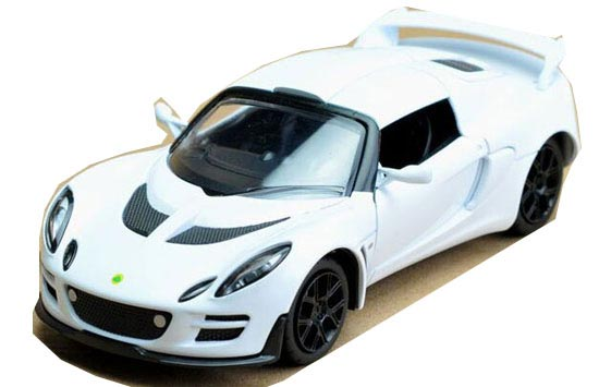White / Black /Red / Yellow 1:32 Kids Diecast Lotus EXIGE SCURA