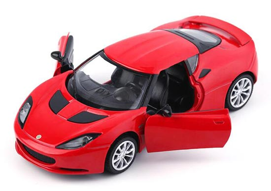 Red / White / Blue / Yellow 1:32 Scale Kid Diecast Lotus Evora