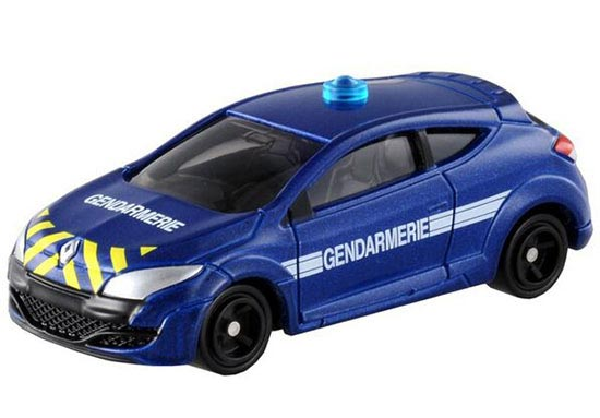 Kids Blue Mini Scale TOMY NO.44 Diecast Renault Megane Toy