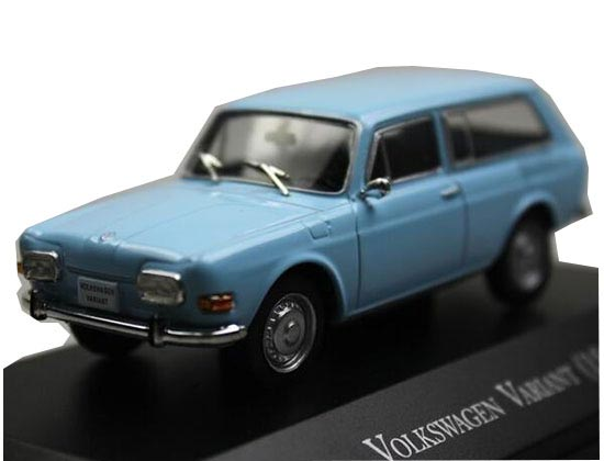 Light Blue 1:43 IXO Diecast 1969 Volkswagen VARIANT Model