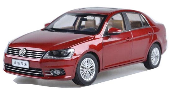 Black / Red / Gray / Champagne 1:18 Diecast VW NEW BORA Model