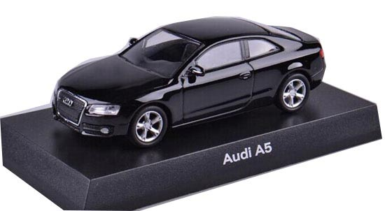 Black / Red 1:64 Scale KYOSHO Diecast Audi A5 Toy