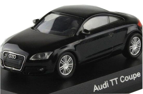 Black / White 1:64 Scale KYOSHO Diecast Audi TT Coupe Model
