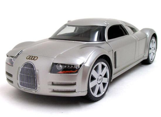 Silver 1:18 Scale MaiSto Audi Supersportwagen Rosemeyer Model