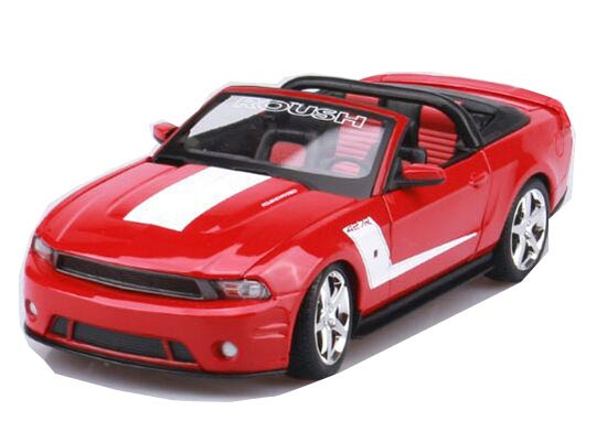 Red 1:18 Scale MaiSto Diecast 2010 Ford Mustang Model