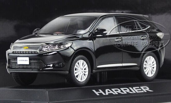 1 30 Scale Five Colors Diecast Toyota Harrier Model