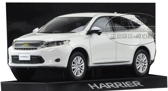 1:30 Scale Five Colors Diecast Toyota HARRIER Model