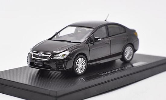 Black 1:43 Scale Diecast SUBARU IMPREZA G4 Model