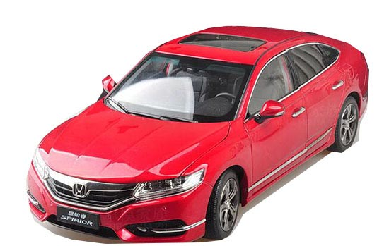 Red / Black / White 1:18 Scale Diecast HONDA SPIRIOR Model