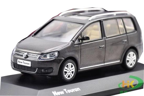Gray 1:43 Scale Diecast VW NEW TOURAN Model