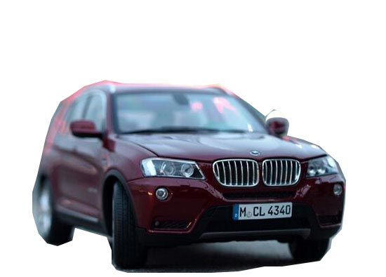 Red / Brown / Blue / Black 1:18 Scale Diecast BMW X3 SUV Model