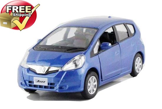 1:36 Scale Blue /Green / Yellow /Red Kids Diecast Honda Fit Toy