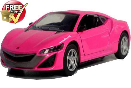 1:32 Pink /Red /Yellow /Green Diecast Acura NSX Concept Car Toy