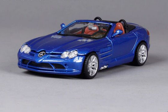 Blue 1:32 Scale Bburago Diecast Mercedes-Benz SLR Model