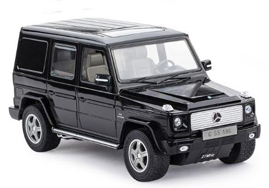 Silver / Black 1:14 Full Functions R/C Mercedes-Benz G55 AMG