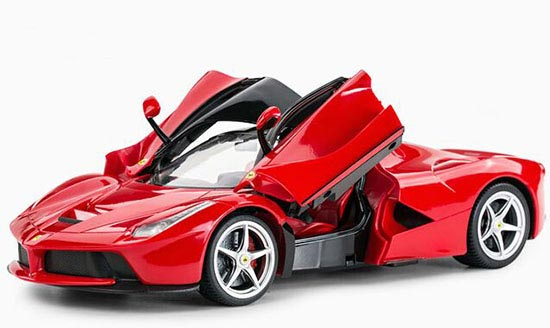 Yellow /Red Kids 1:14 Scale Full Functions R/C Ferrari LaFerrari
