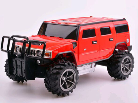 Yellow / Black / Red 1:14 Full Functions R/C Hummer H2 SUV Toy