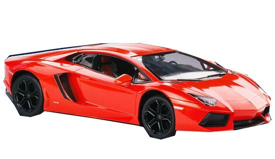 Orange /White 1:14 Full Functions Kids R/C Lamborghini LP700 Toy
