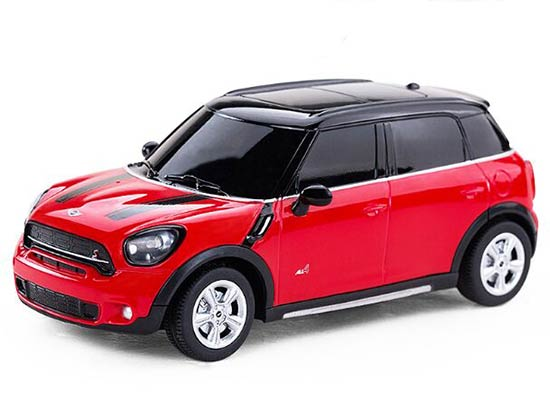 Red /Yellow 1:24 Full Functions Kid R/C Mini Cooper Countryman