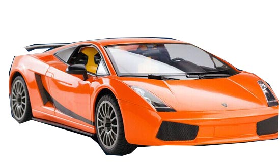 Yellow / Orange 1:14 Scale Kids R/C Lamborghini LP560-4 Toy