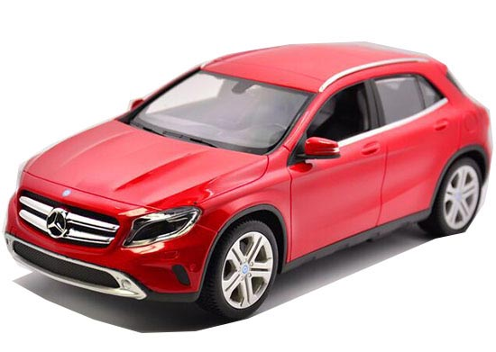 White / Red 1:14 Scale Kids R/C Mercedes-Benz GLA-Class Toy