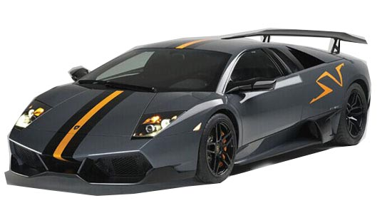 Gray Kids 1:14 Scale Full Functions R/C Lamborghini Murcielago