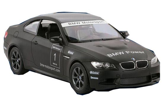 White / Black 1:14 Scald Kids Full Functions R/C BMW M3 Toy
