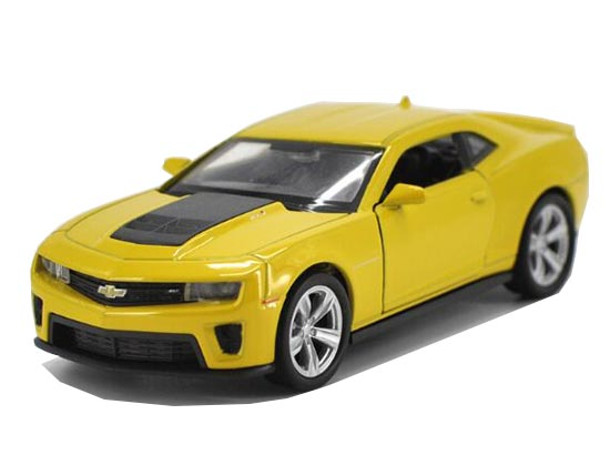 Yellow 1:36 Scale Welly Kids Diecast Chevrolet Camaro Toy