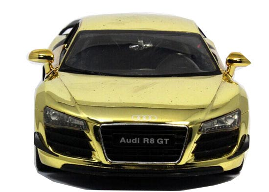 Speedy Yellow / Golden / Bronze 1:24 Diecast Audi R8 GT Model