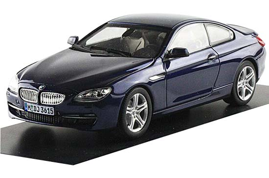 White / Black / Blue / Golden 1:43 Diecast BMW 650i Coupe