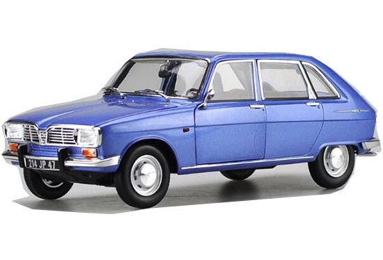 Blue 1:18 Scale NOREV Diecast RENAULT 16 1967 Model