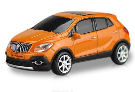 Red / White / Orange 1:87 Scale Diecast Buick Encore Toy