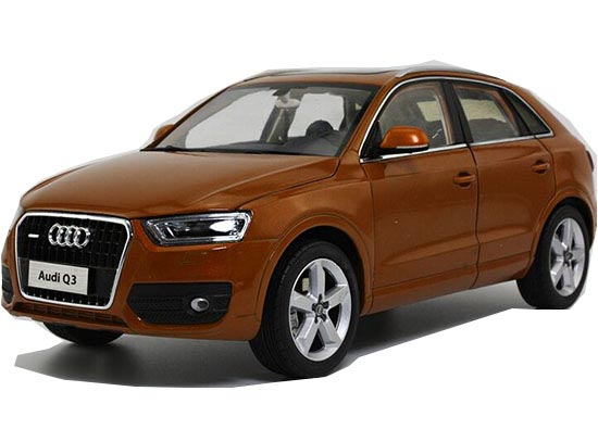 Black / Silver / Orange /Brown 1:18 Scale Diecast Audi Q3 Model