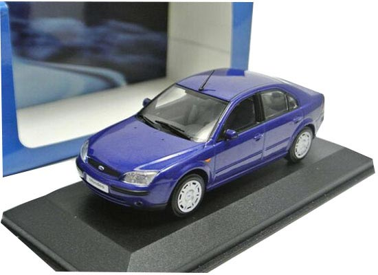 Silver / Blue 1:43 Scale Diecast Ford Mondeo Model