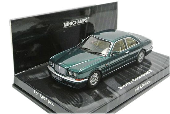 Green 1:43 Minichamps Diecast Bentley Continental R Model