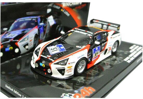 1:43 Scale Minichamps NO.51 2010 Lexus LFA Model